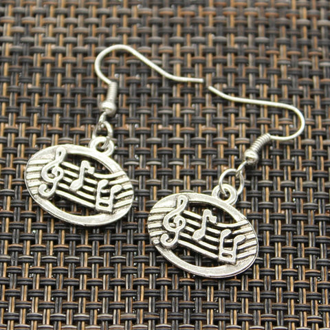 Music Stave Earrings