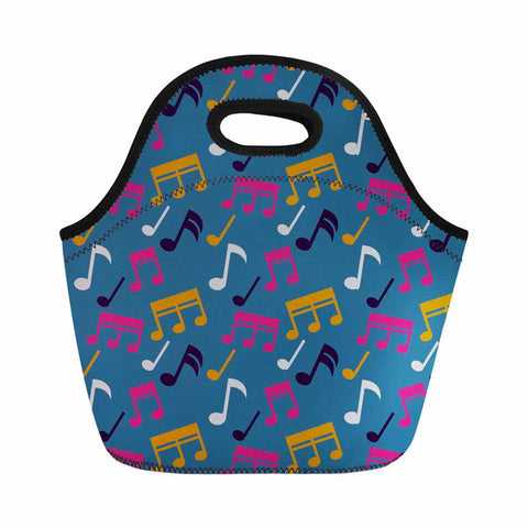 Simple Musical Note Lunch Bag