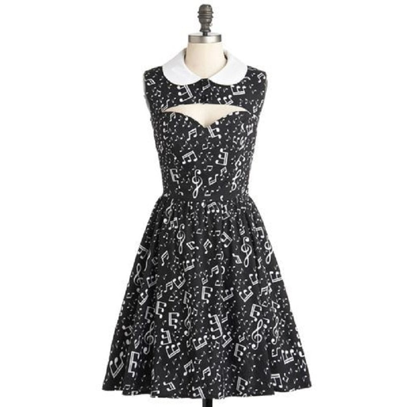 Retro Musical Dress