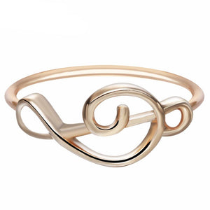 Minimalist Treble Ring