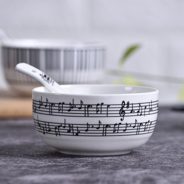 Musical Ceramic Dinnerware