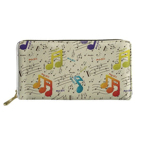 Women's Musical Notes Purse