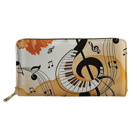 Women's Autumn Piano Keys Purse