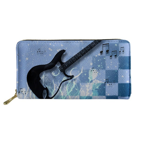E.Guitar Chessboard Wallet