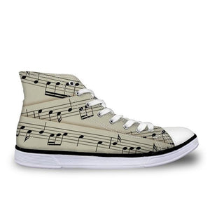 Women's Score Canvas High Top