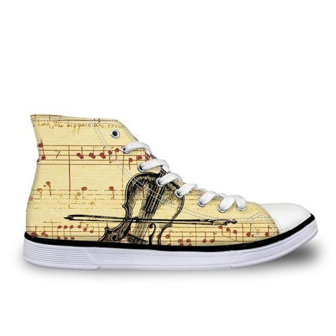Women's Cello Canvas High Top