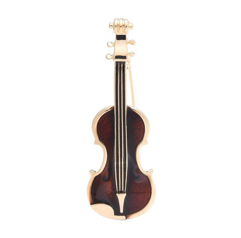 Violin Brooch