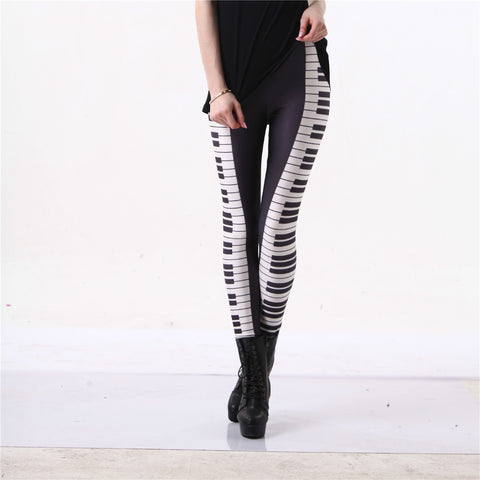 BW Piano Leggings