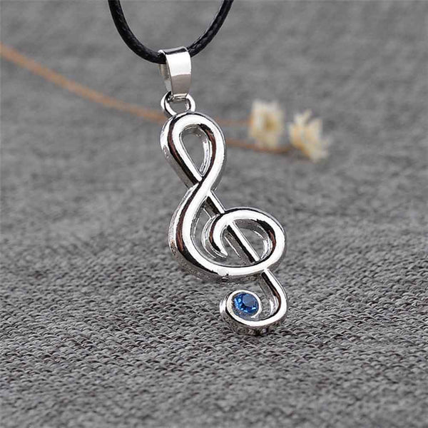 Treble Clef Necklace