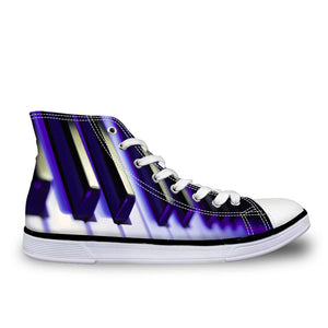 Piano Keys Women's Sneakers