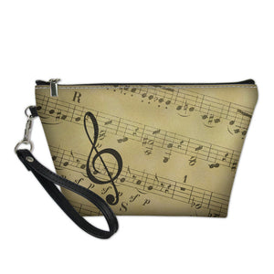 Music  Score Cosmetic Bag