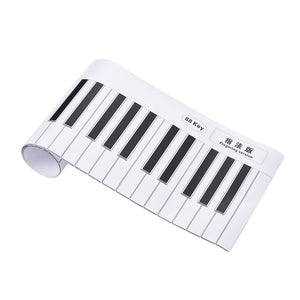88 Keys Piano Keyboard Fingering Practice Chart