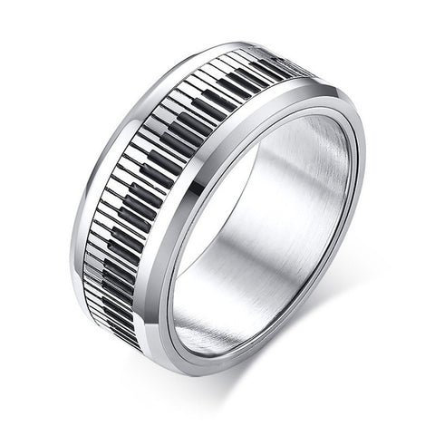 Piano Spinner Ring