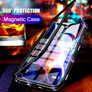 Magnetische Anti-Shock Case Hoes (Huawei)