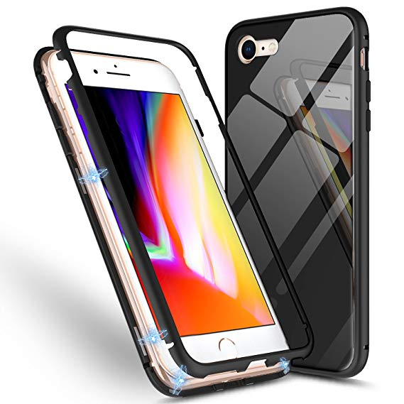 Magnetische Anti-Shock Case Hoes (iPhone)