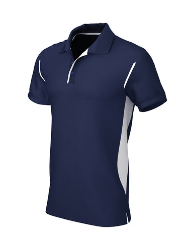 Navy/White Premium Contrast Polo Shirt