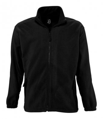 SOL'S Black North Fleece Jacket
