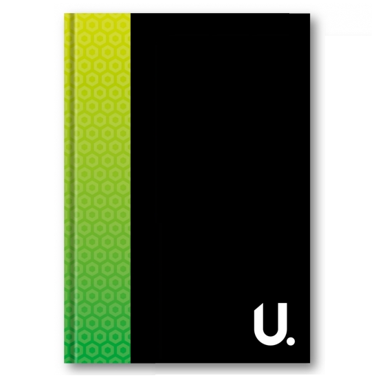U.Note A4 Bright Hardback Notebook