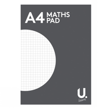Load image into Gallery viewer, U.Learn A4 Maths Pad