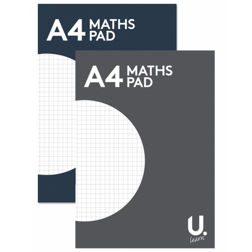 U.Learn A4 Maths Pad