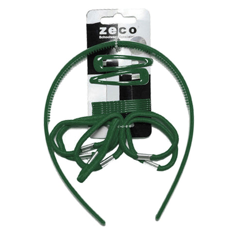 Bottle Green Alice Hair Band Set