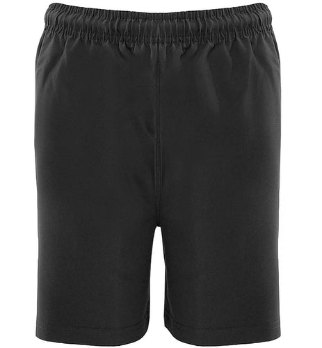 Black Essentials P.E. Shorts