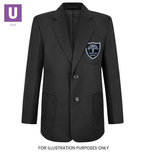 Treetops Boys Eco School Blazer with logo