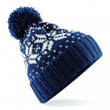 Load image into Gallery viewer, Beechfield Fair Isle Snowstar® Beanie