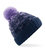 Load image into Gallery viewer, Beechfield Ombré Pom Pom Beanie