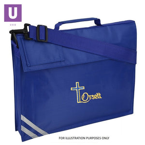Orsett Primary Premium Book Bag with logo