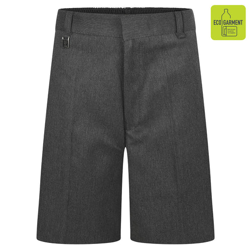 Boys Grey Standard Fit Shorts