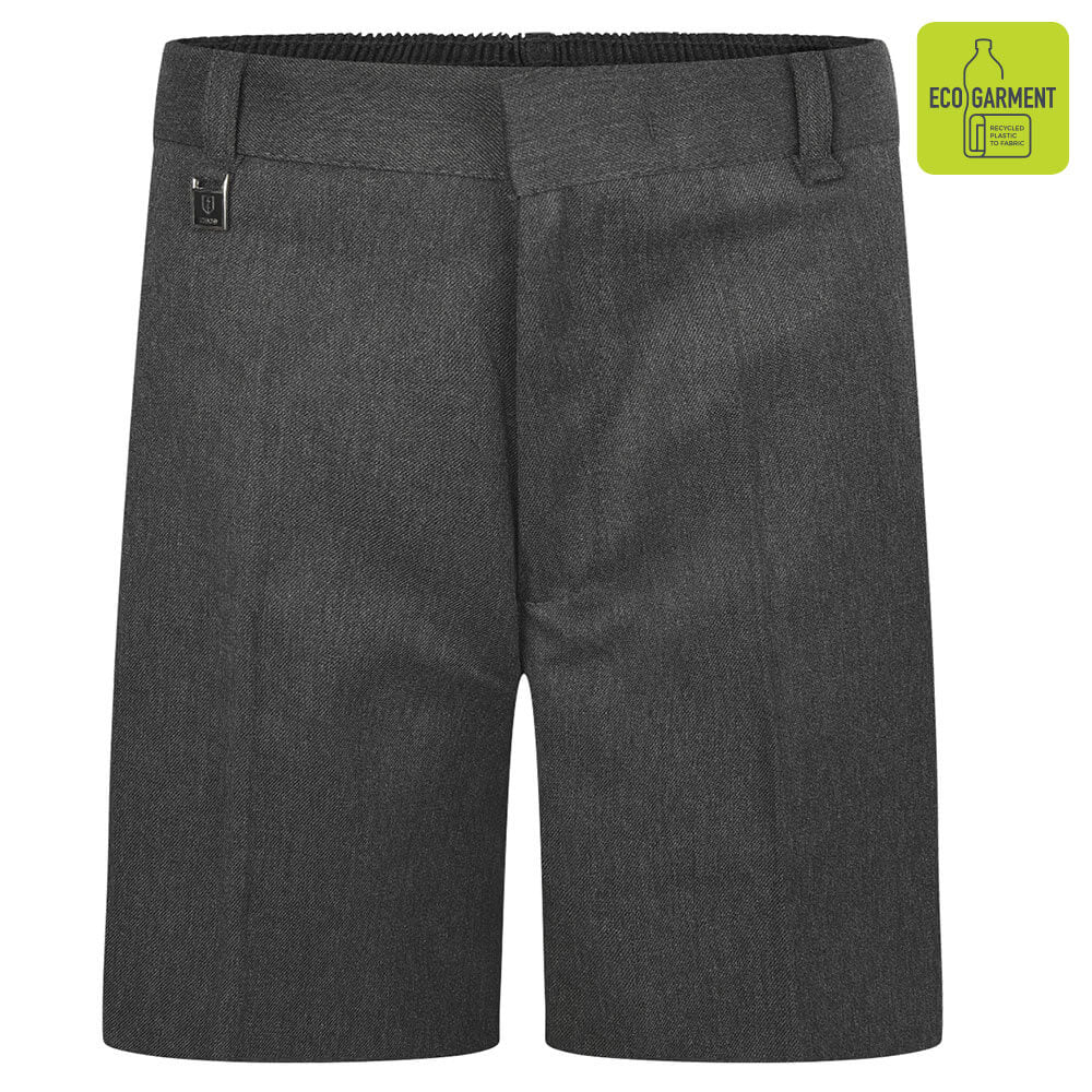 Boys Grey Sturdy Fit Shorts