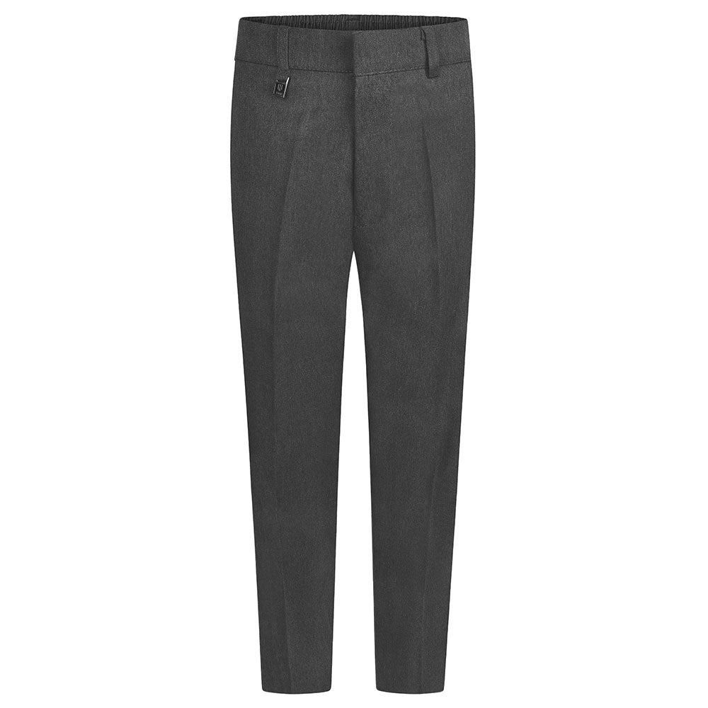Boys Grey Slim Fit Trouser