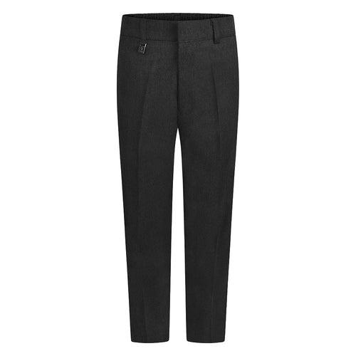 Boys Charcoal Standard Fit Trouser