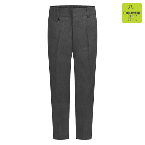Boys Grey Standard Fit Trouser