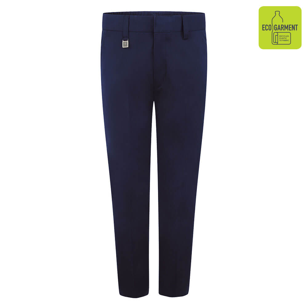 Boys Navy Standard Fit Trouser