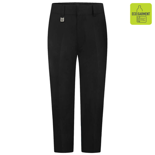 Boys Black Sturdy Fit Trouser