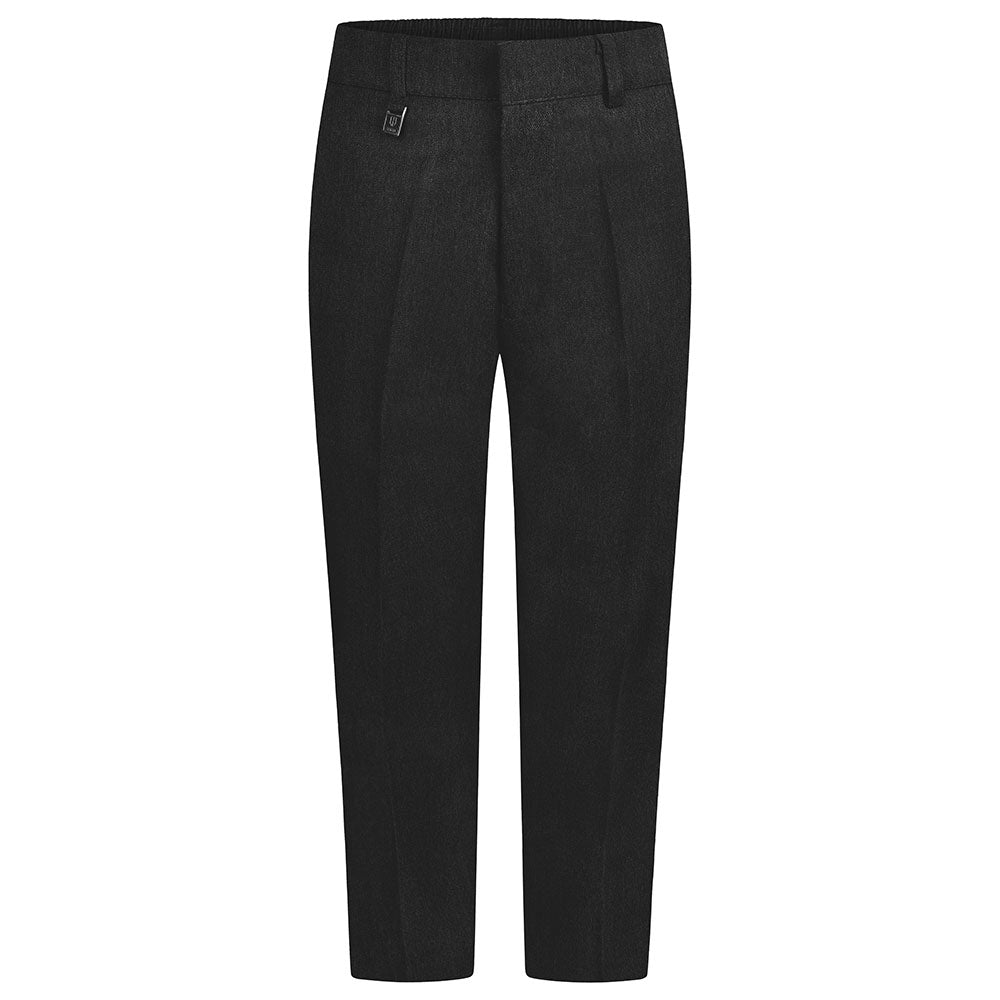 Boys Charcoal Sturdy Fit Trouser
