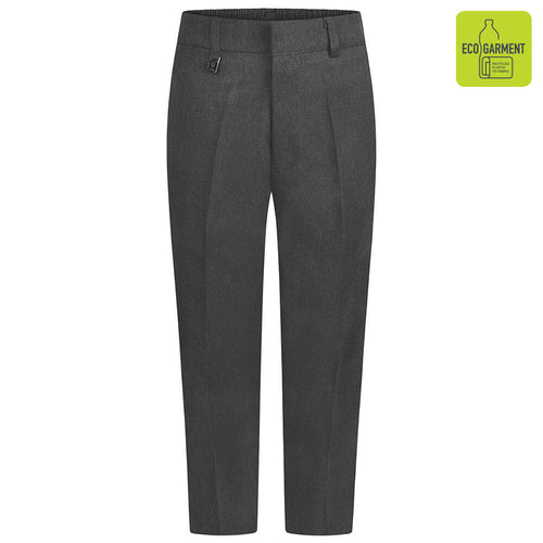 Boys Grey Sturdy Fit Trouser