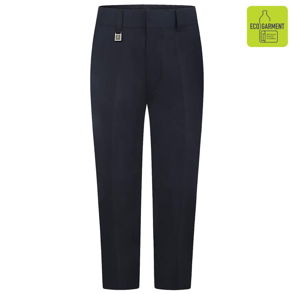 Boys Navy Sturdy Fit Trouser