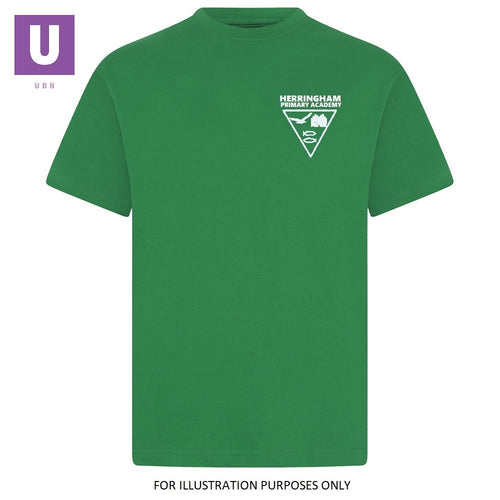 Herringham Primary Emerald P.E. Crew Neck T-Shirt