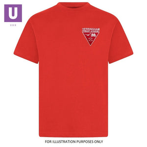 Herringham Primary Red P.E. Crew Neck T-Shirt