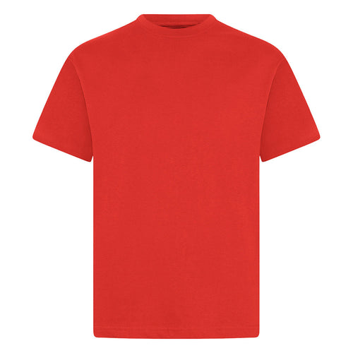 Red P.E. Crew Neck T-Shirt