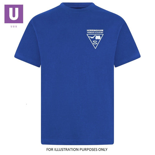 Herringham Primary Royal Blue P.E. Crew Neck T-Shirt