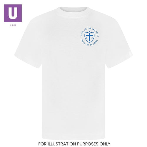 Holy Cross Primary P.E. T-Shirt with logo