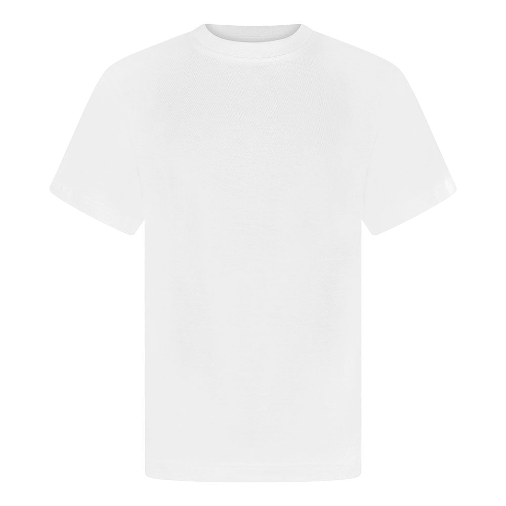 White P.E. Crew Neck T-Shirt