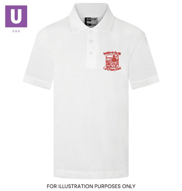 Horndon-on-the-Hill Primary Polo Shirt with logo