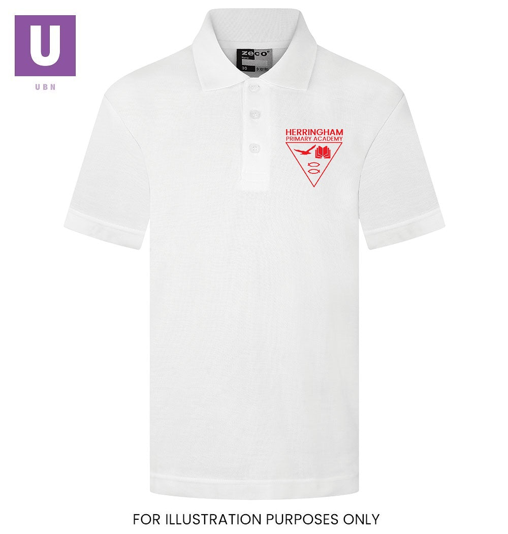 Herringham Primary Academy Polo Shirt with logo