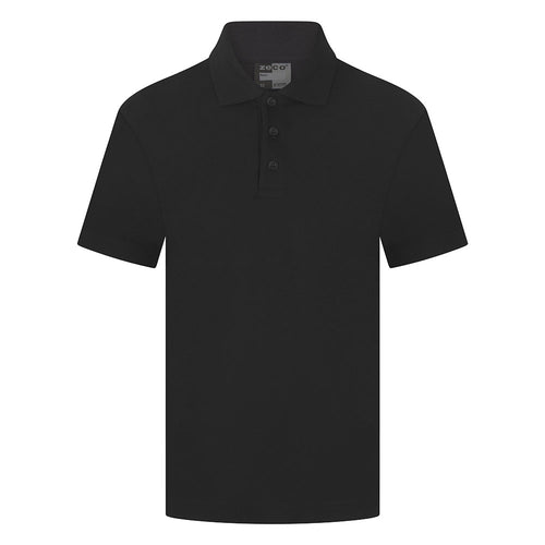 Black Unisex Polo Shirt