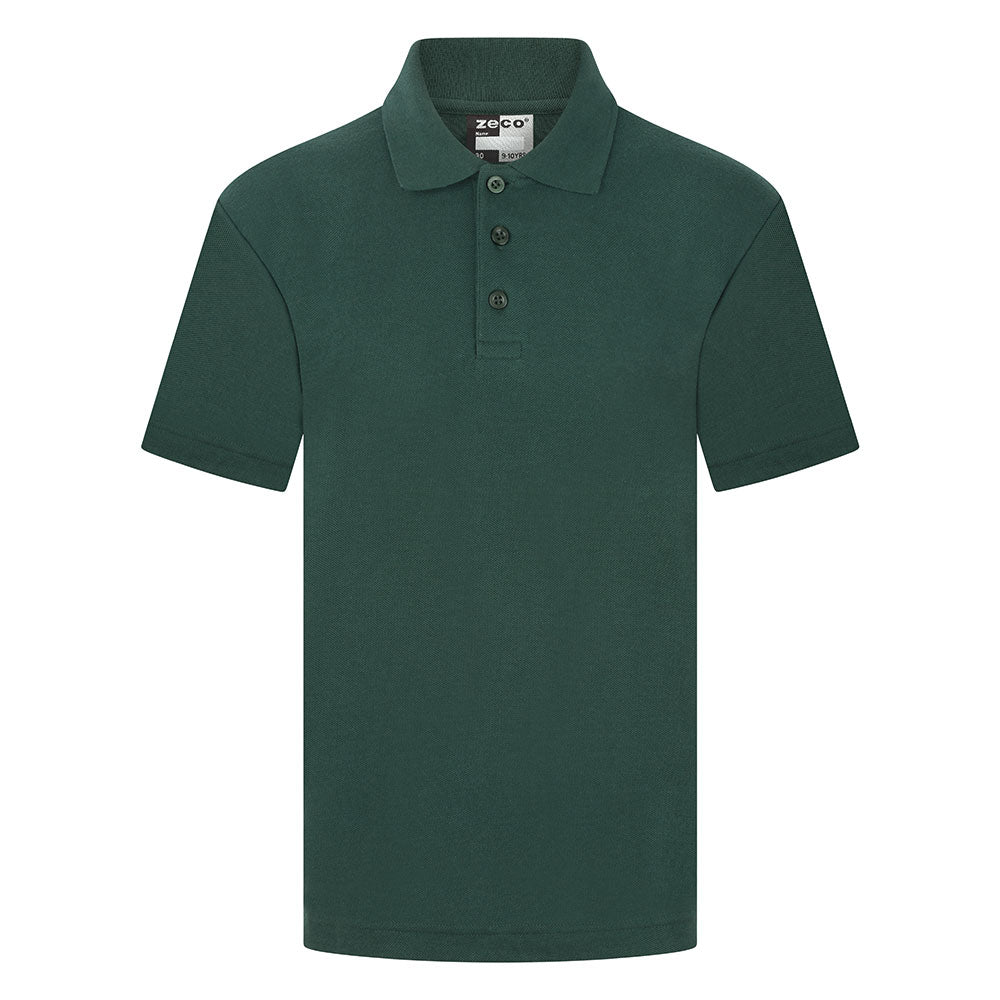 Bottle Green Unisex Polo Shirt